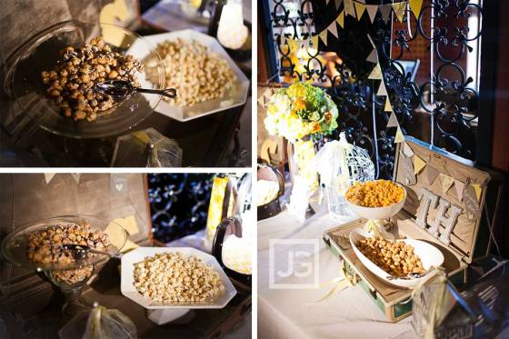 Thuy and Hollie Custom Popcorn Bar | MLM Event Design