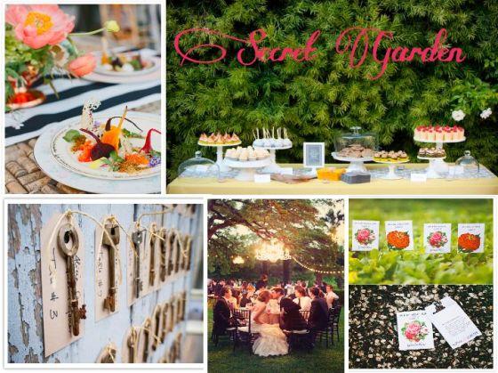 secret garden, wedding inspiration, event planning
