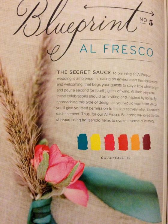 Al Fresco Blueprint