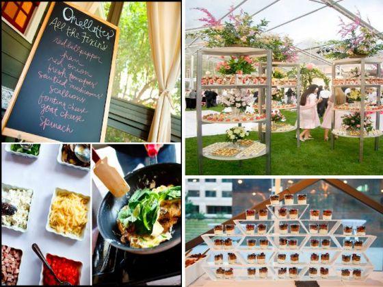 brunch, wedding, inspiration, orange county, omlet station