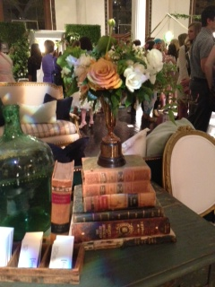 A Found Book Centerpiece created by Art with Nature