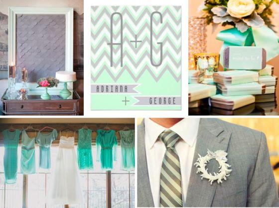 mint, grey, wedding, inspiration, wedding planner, orange county