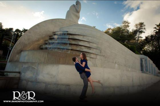 Carolyn and Andrew, Engagement shoot, orange county, R & R Photography