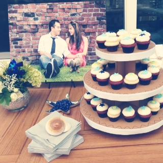 Brooke's Seaside Bridal Shower Dessert Table | MLM Event Design