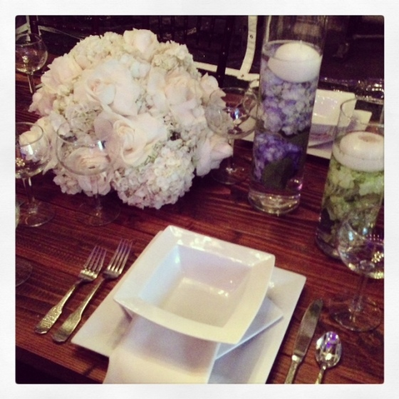 Table at Choura Backyard Bash | MLM Event Design