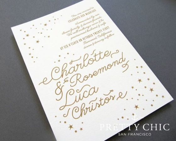 Invitation | Our Love is Written in the Stars | MLM Event Design