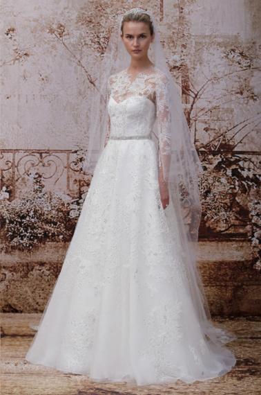 Monique Lhuillier Fall 2014 Bridal | MLM Event Design